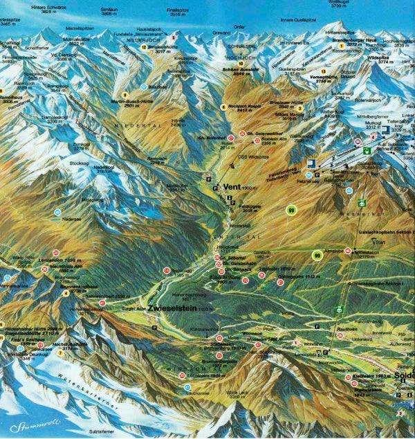 Ötztaler Alps Picture credit...