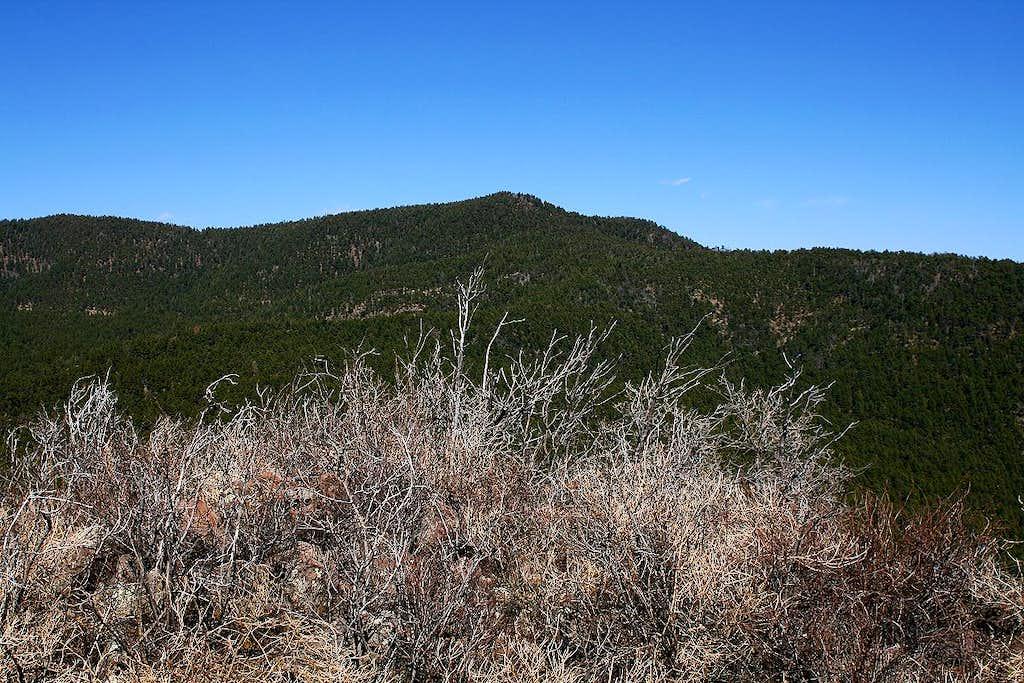 Black Peak from Twin Sisters