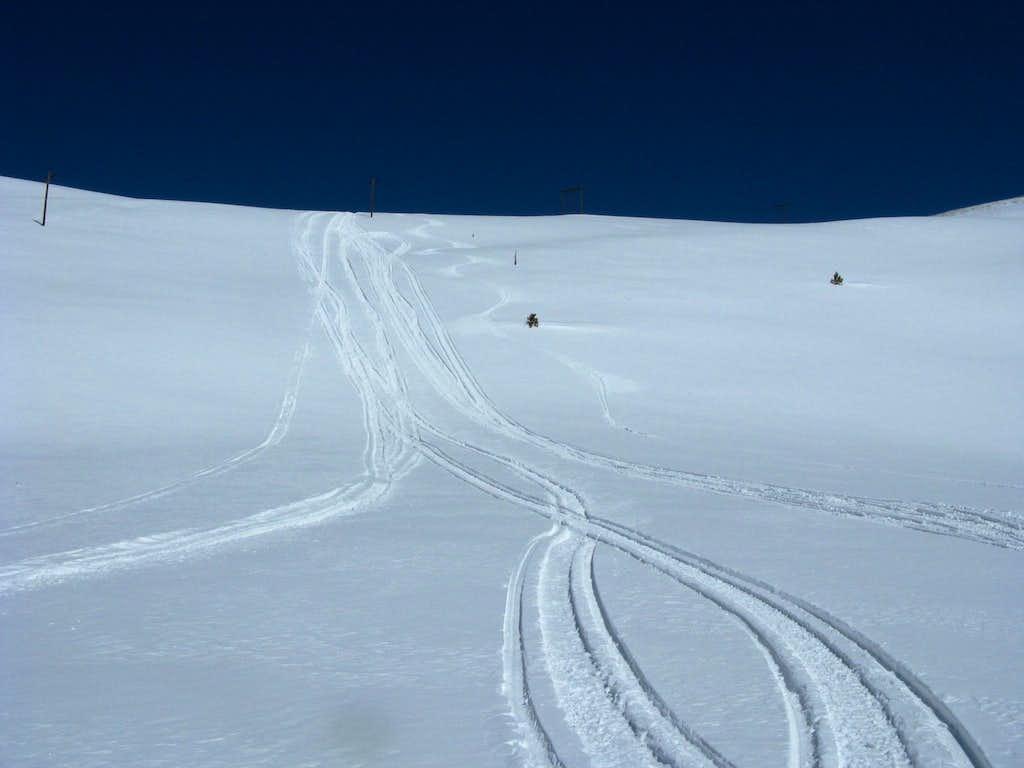 Skiing Mount Evans B
