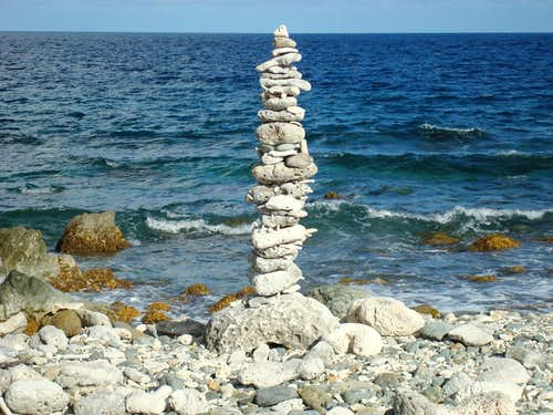 The last cairn...............