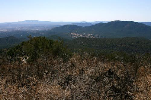 Twin Sisters summit view