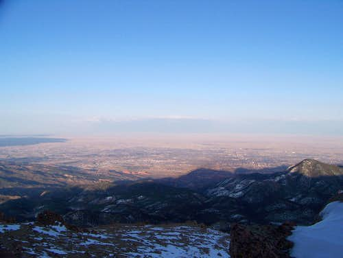 The Shadow Of Pikes Peak