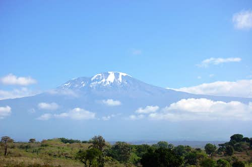 Kili in the distance