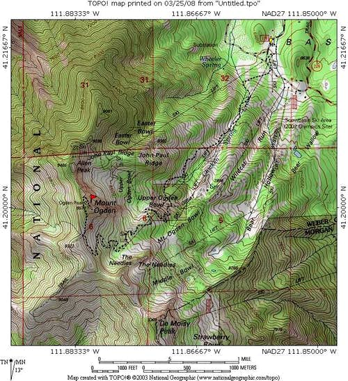 Mt. Ogden up and back