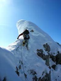 Winter at Mittenwalder Klettersteig