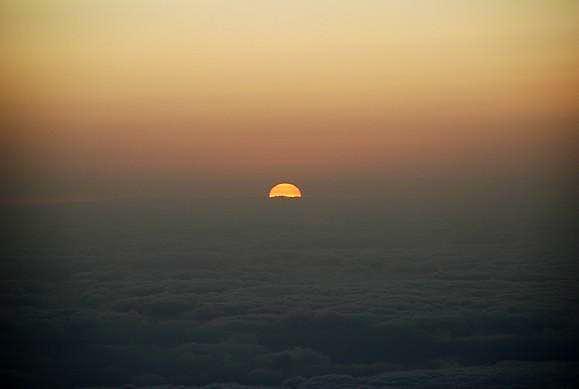 Pico de la Cruz´s sunrise