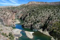 The Gunnison River from Ute Trail in Gunnison Gorge