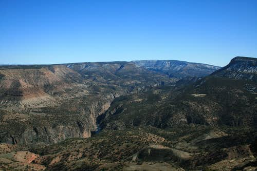 Gunnison Gorge looking from the North