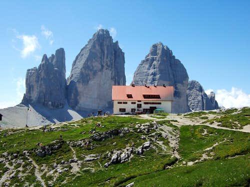 Drei Zinnen / Tre Cime / Locatelli  hut