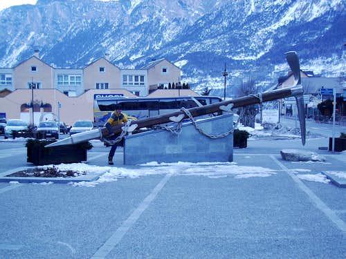 Ice climbing Ecrins 2005