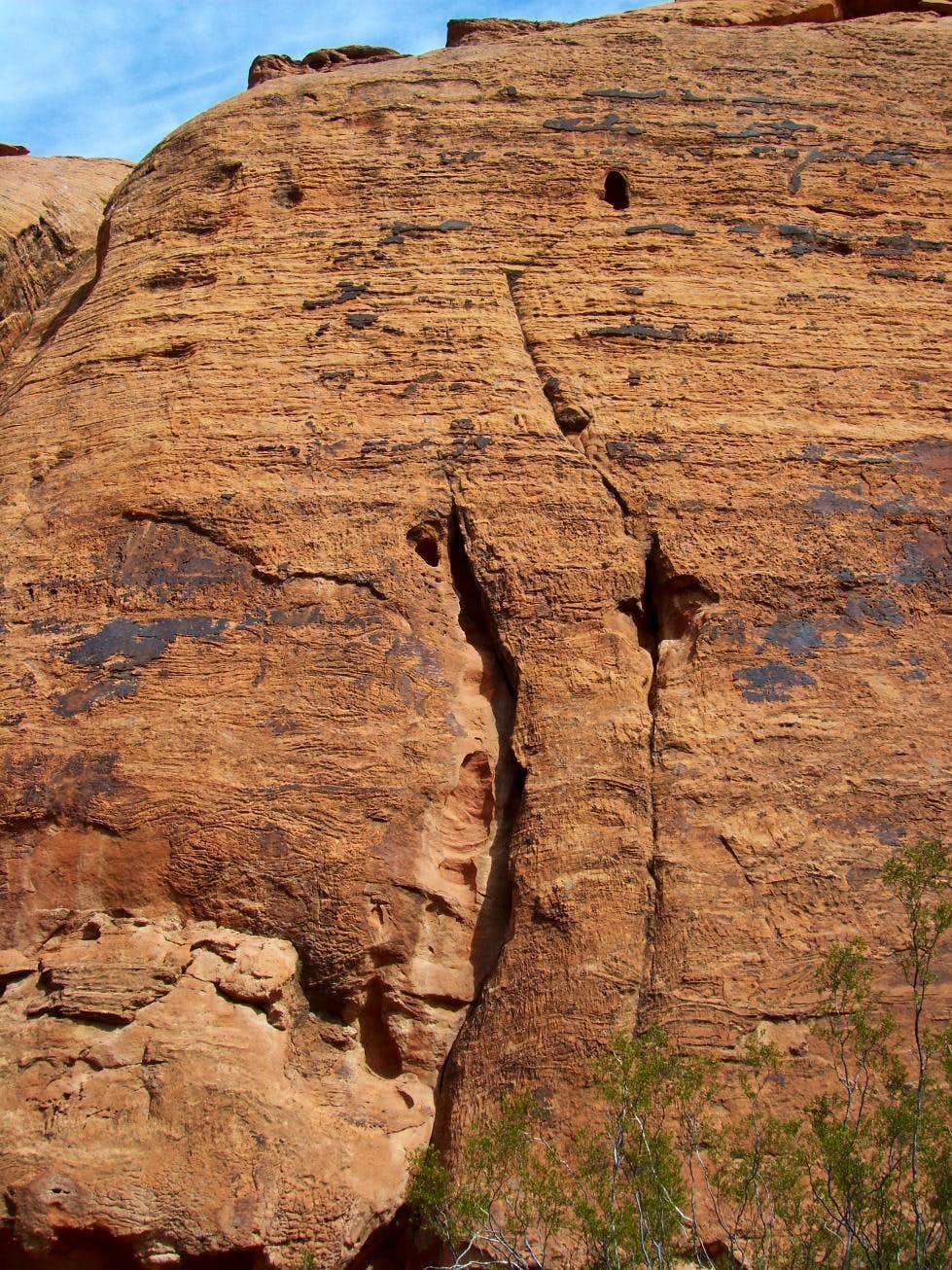 Pillar of Faith, 5.10b