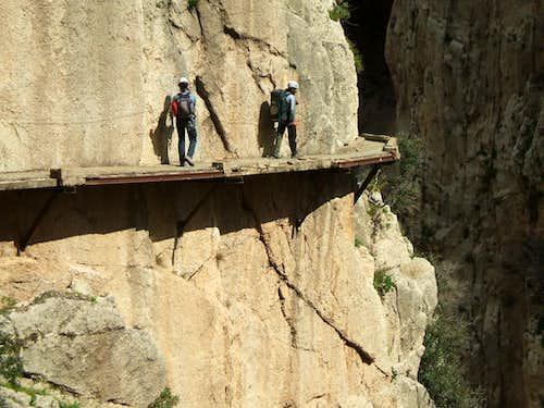 The 'Camino del Rey' ferrata