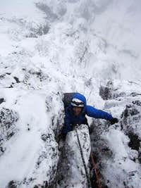climbin up carstensz