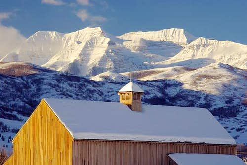 The Tate Barn & Timp