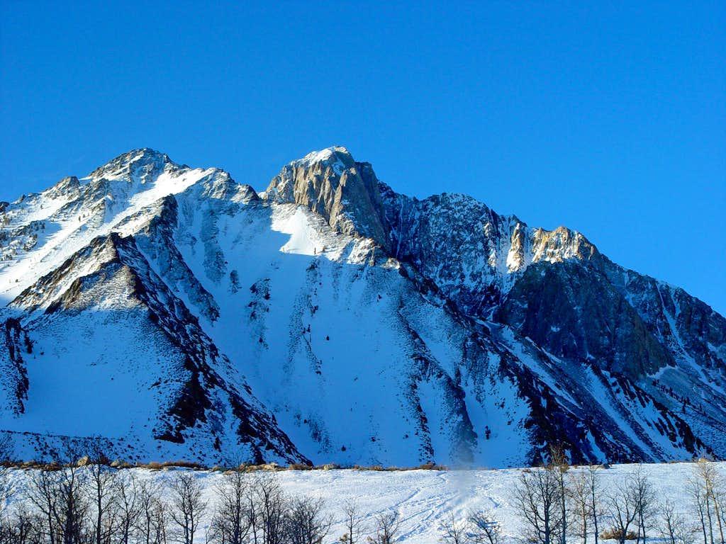 Mount Morrison and Mono Jim Peak
