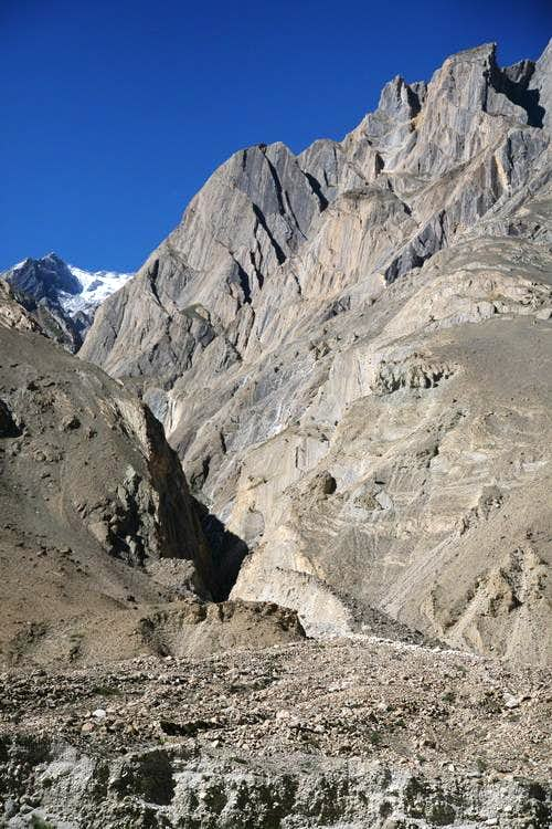 Rock Towers Karakoram Pakistan Photos Diagrams