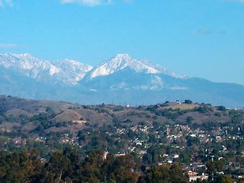 Cucamonga Peak some 30 miles...
