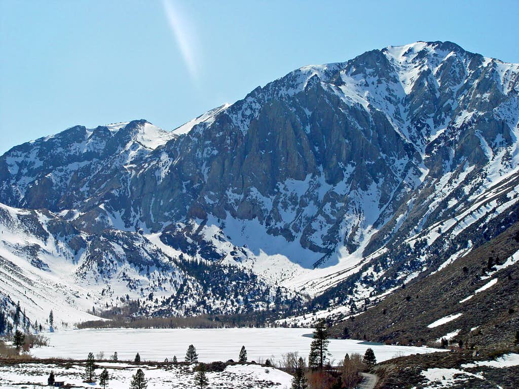 Laurel Mountain with Convict Lake