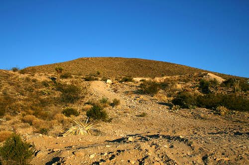 Tortugas Mountain west slope