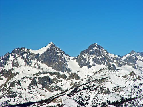 Mount Ritter and Banner Peak