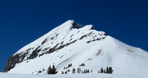 North East Ridge in Winter