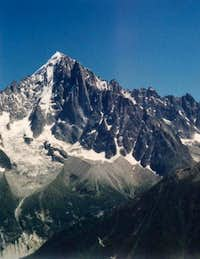 Aiguille Verte from trail to Le Brevent