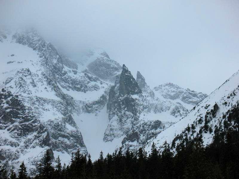 Three summits: Mnichek, Mnich and Zadni Mnich