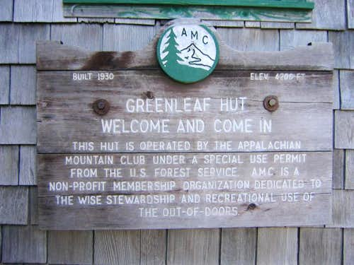 Greenleaf AMC Hut