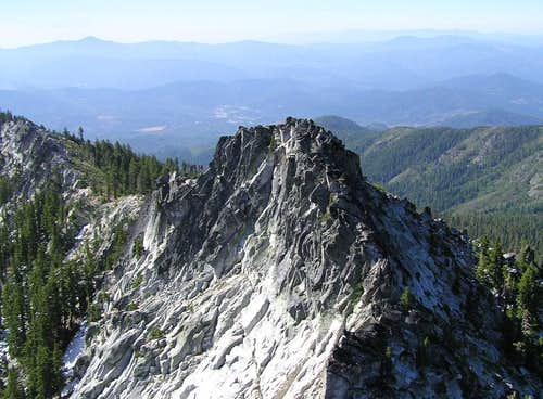 Monument Peak & Weaverville