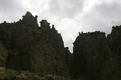Amazing Shapes of Rocks, Karakoram, Pakistan