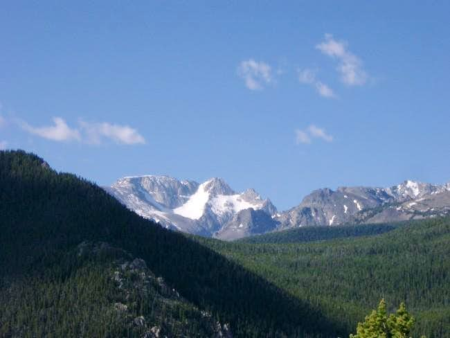 View of Mt. Wood from Dean, MT