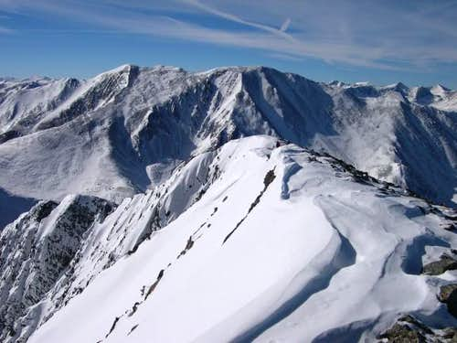 A summit view of Bald...