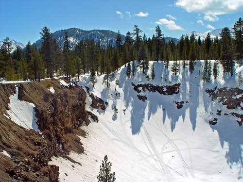 South and North Inyo Craters