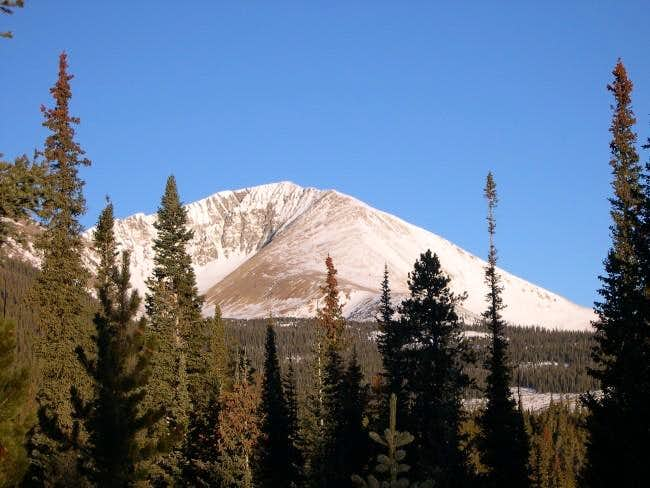 Mount Guyot from the Georgia...