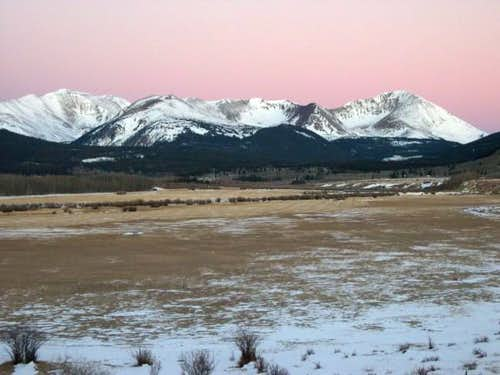 Mount Guyot-(13,370-ft) on...