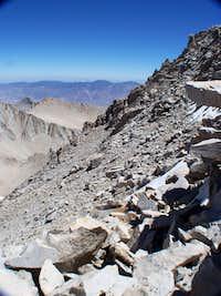 Whitney north slope traverse