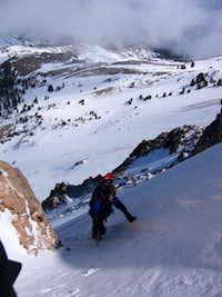NW Ridge chute