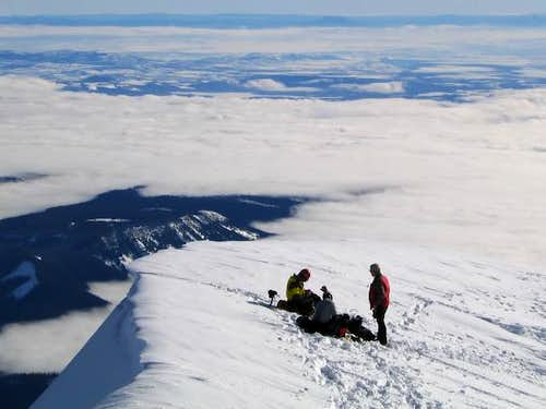On top of Oregon. (1/21/04)