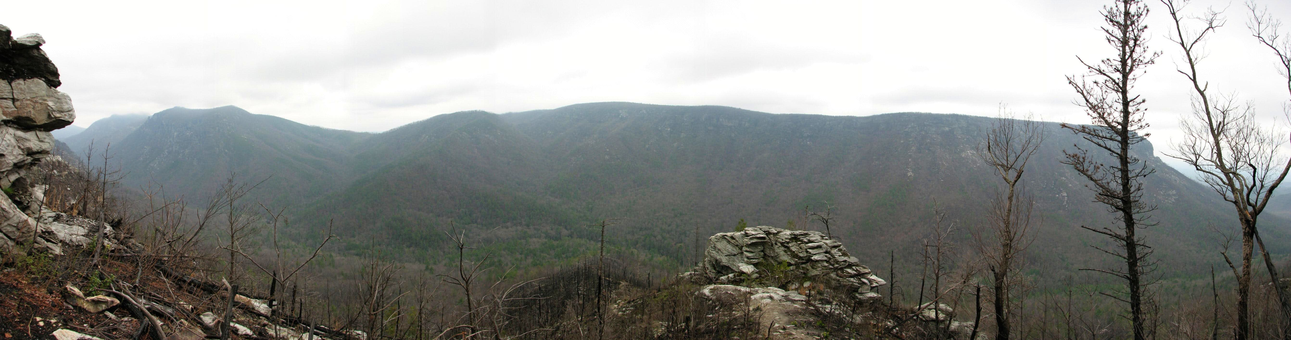 First Backpack into Linville Gorge