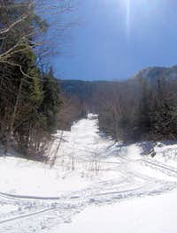 Bennies Brook Slide - Winter