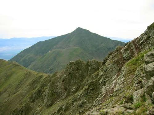 A green Horn Peak from...