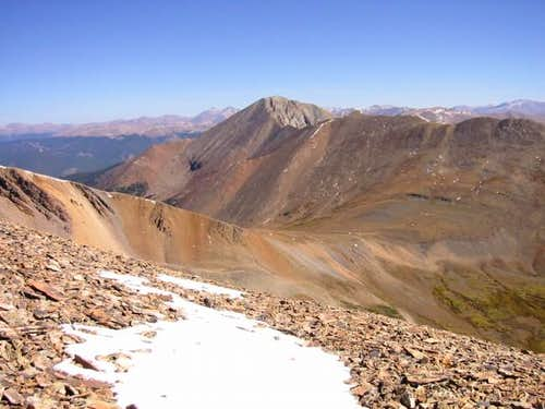 Mount Guyot from Bald...