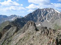 LaPlatta Peak from the...
