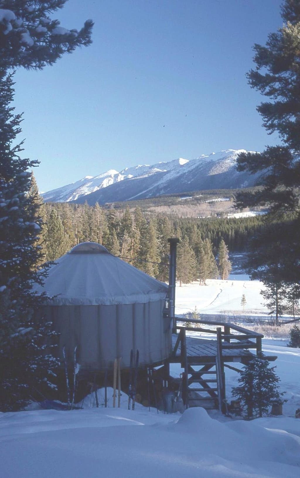 The Grass Creek Yurt