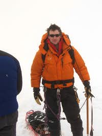 Myself ready for a summit attempt