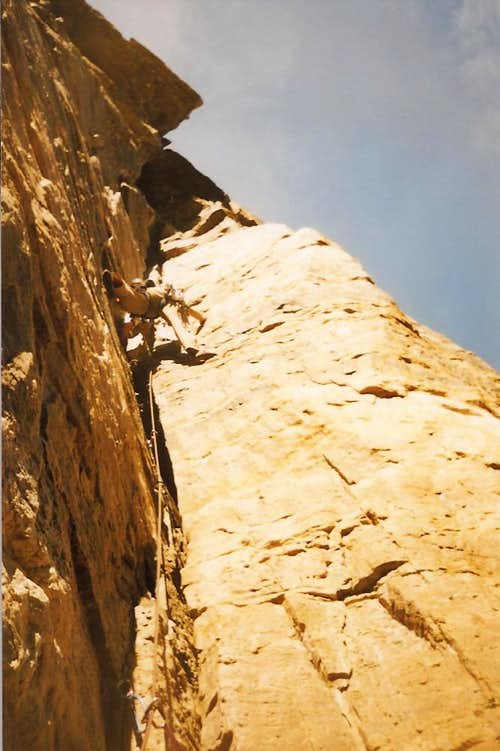 Morgan pitch 3 of Normal route