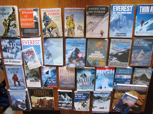 Recommended Mountaineering Books