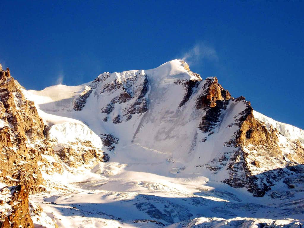 North wall of Gran paradiso seen from ref.Chabod.