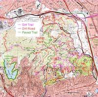 Griffith Park Map