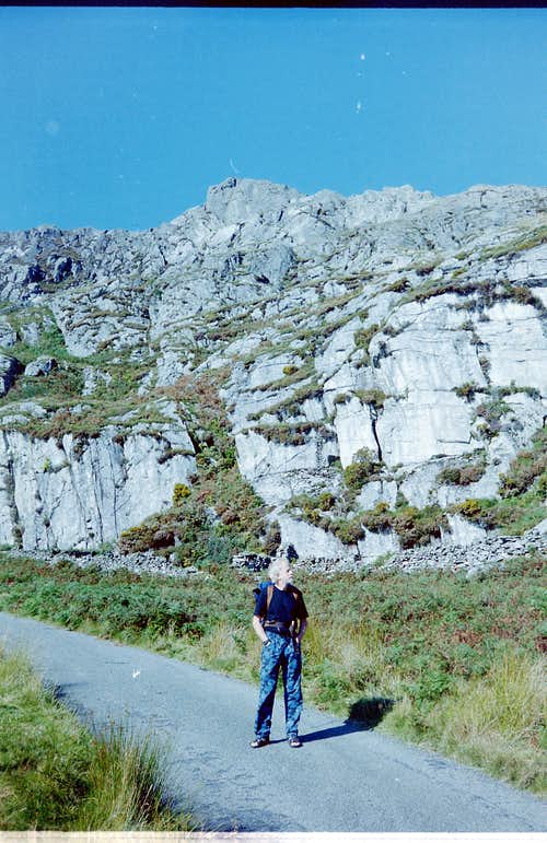 Access Road to Crags